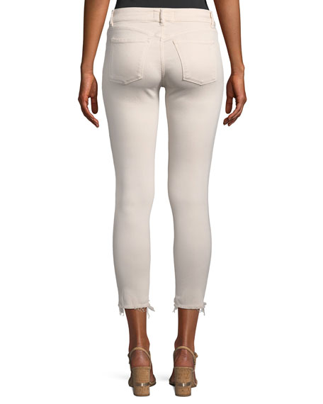 Florence Mid-Rise Cropped Instasculpt Skinny-Leg Jeans