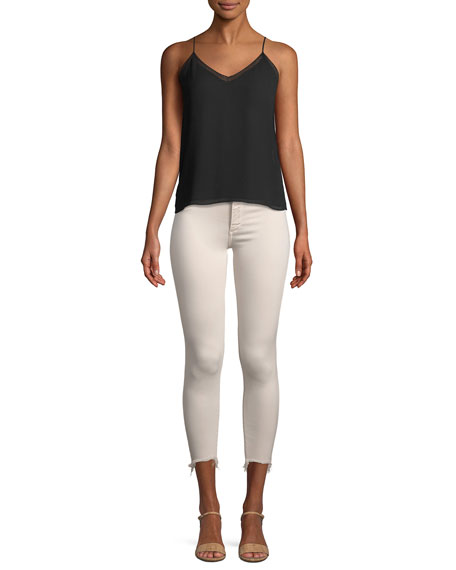 Florence Mid-Rise Cropped Instasculpt Skinny Jeans