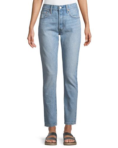501 Lovefool High-Rise Skinny-Leg Jeans