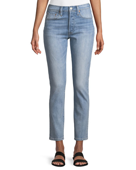 Levi's Premium 501 Heartbreak High Skinny-Leg Jeans