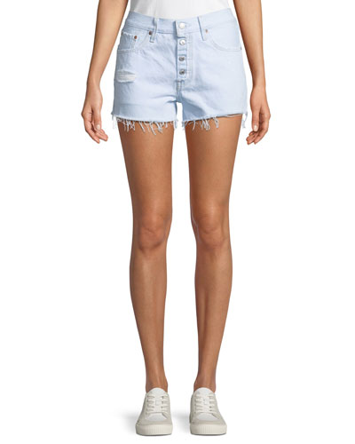 501 Better Love Denim Shorts w/ Cutoff Hem
