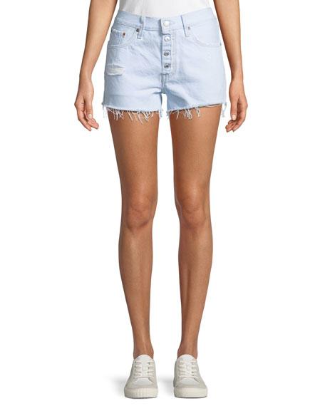 Levi's Premium 501 Better Love Denim Shorts w/