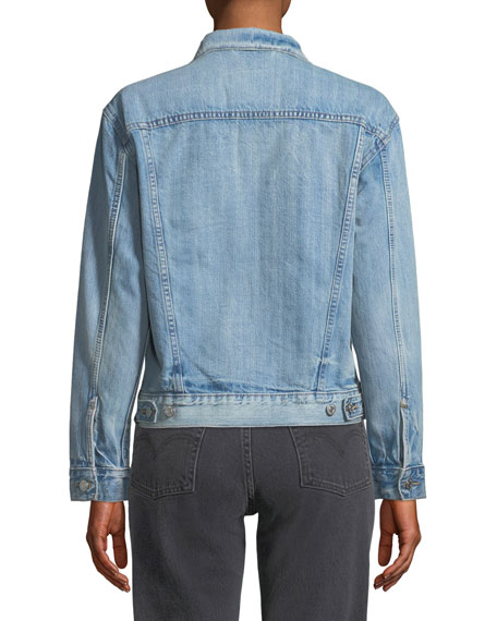 Ex-Boyfriend Dream Of Life Denim Trucker Jacket