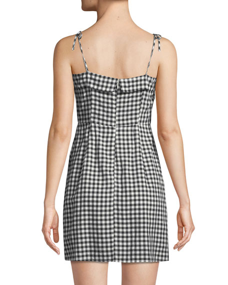 Eddie Checked Mini Dress