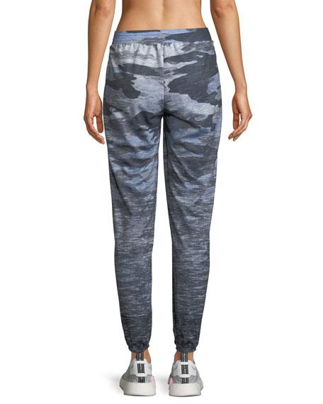 Camo-Print Ombre Jogger Pants