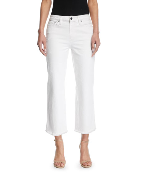 AO.LA by Alice+Olivia Perfect Cropped Kick Flare Jeans