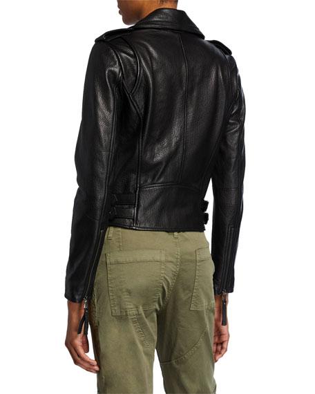 Joie Leolani Lamb Leather Moto Jacket
