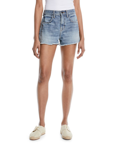 Seffi Cut-Off Denim Shorts