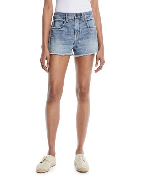 Seffi Cut-Off Denim Shorts
