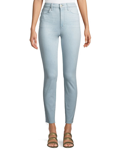 Bella High-Rise Ankle Skinny Jeans
