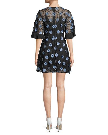 Crave You Floral Lace Mini Dress