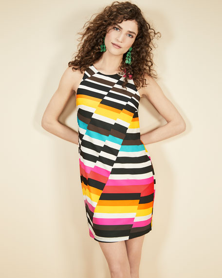 Macee Canyon Stripe Mini Dress