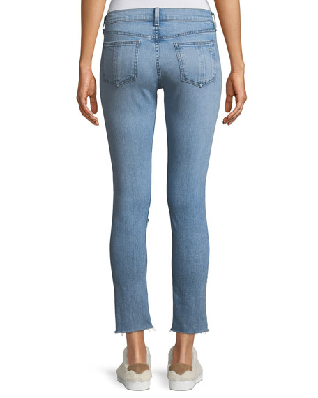 Classic Mid-rise Ankle Skinny Jeans