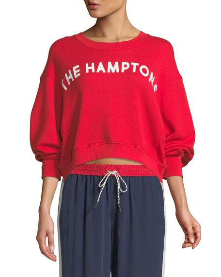 "Caleigh ""The Hamptons"" Crewneck Sweatshirt"