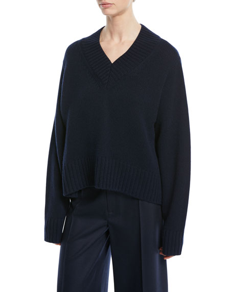 Joseph V-Neck Cashmere Luxe Sweater and Matching Items