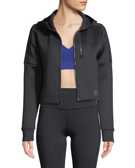 Perpetual Spacer Hooded Performance Jacket