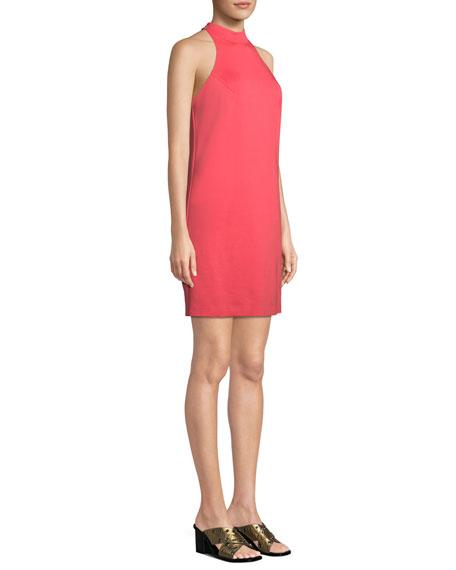 River Ponte Sleeveless Mini Dress