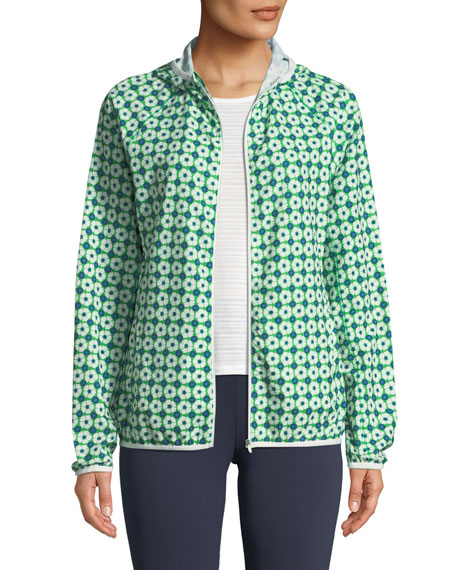 Tory Sport Printed Packable Performance Jacket and Matching