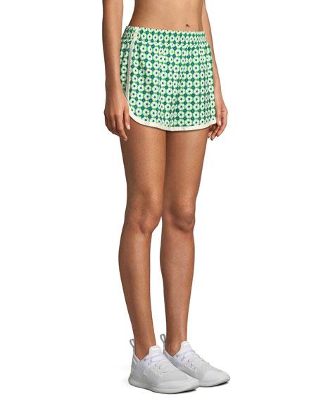 Printed Pull-On Running Shorts