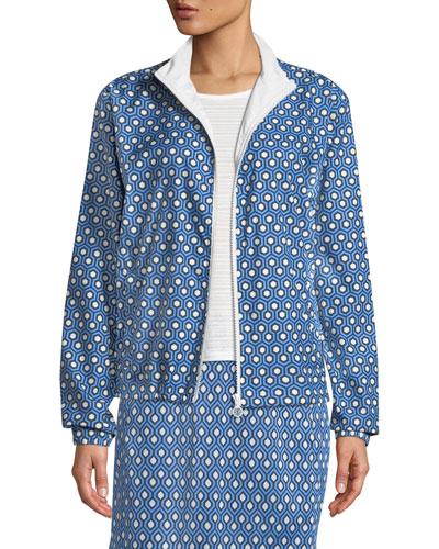 Essex Printed Golf Jacket