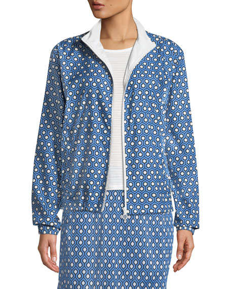 Tory Sport Essex Printed Golf Jacket and Matching