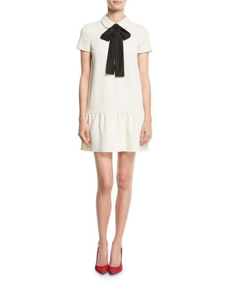 Frisottino Necktie Shift Dress
