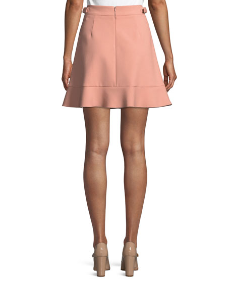 Cady Side-Buckle Tech Skirt