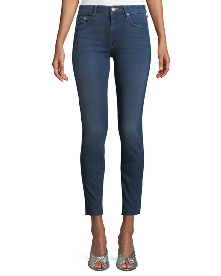Mother Looker Ankle-Length Skinny-Leg Jeans