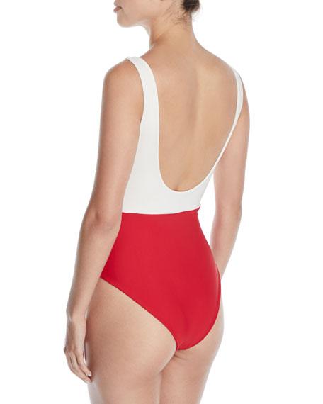 Mack Colorblock Tank One-Piece Swimsuit
