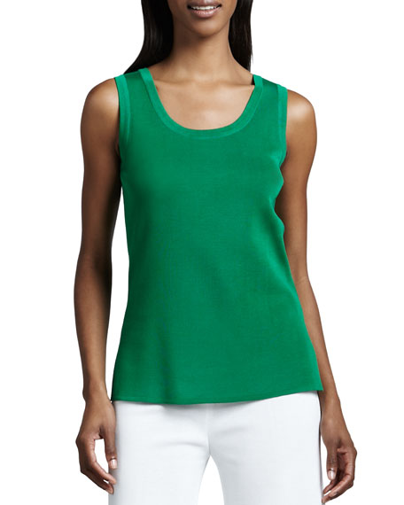 Misook Amy Knit Tank, Plus Size