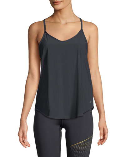 Free Cut Strappy Keyhole Tank Top