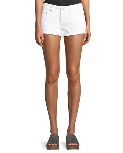 Keira Fray Denim Shorts