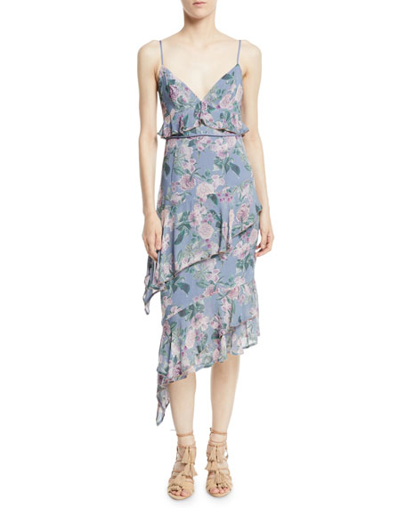 La Maison Talulah Here And Now Asymmetric Floral