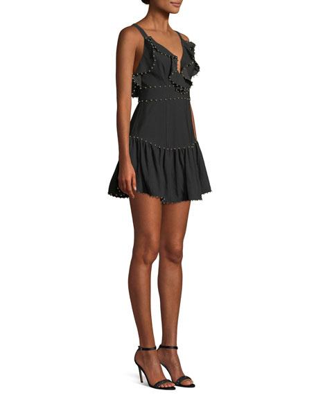 Rare Beauty Ruffle Mini Dress