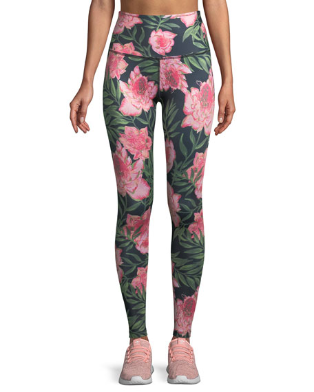 Beyond Yoga Lux Floral High-Rise Full-Length Leggings
