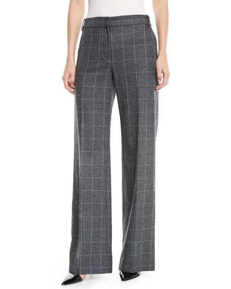 Hagan Scholastic Plaid Wool Pants