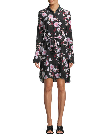 Equipment Clea Essential Garden Party Shirt Dress