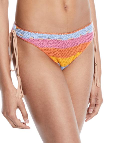 Corin Crochet Tie-Side Swim Bikini Bottoms