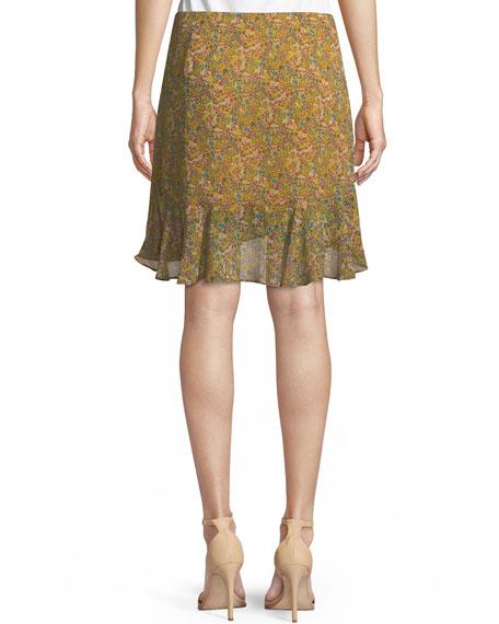 Alice Draped Ruffle Skirt