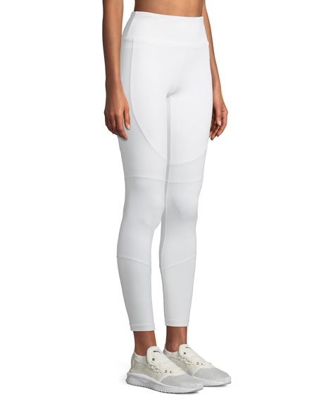 Vamp Paneled High-Rise Leggings