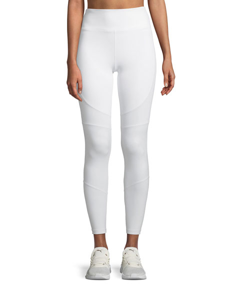 Alala Vamp Paneled High-Rise Leggings