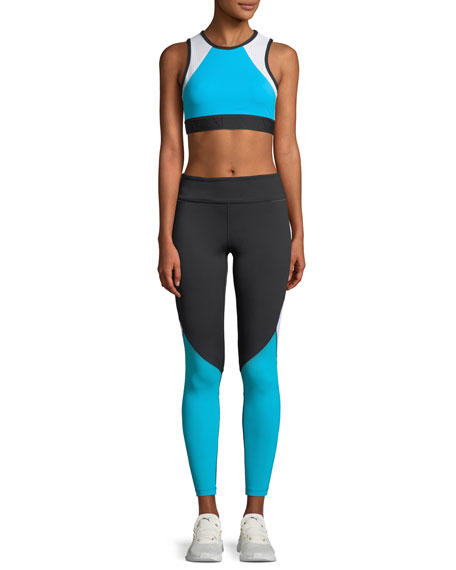 Captain Colorblock Performance Tights