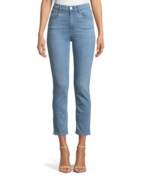 3x1 W4 Colette Cropped Skinny-Leg Jeans
