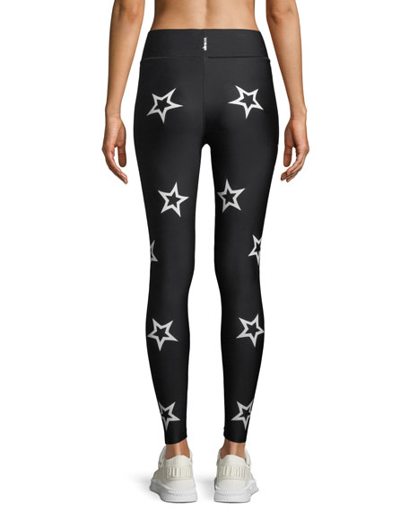 Ultra High Knockout Dropout Star Leggings