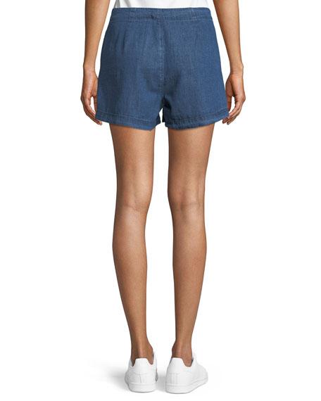 Amy Button Denim Shorts