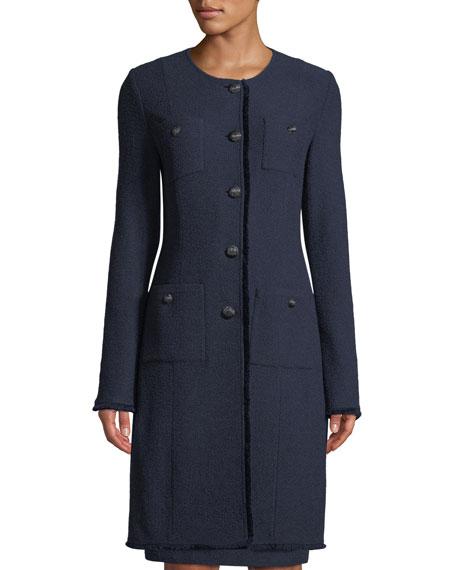 Ana Boucle Knit Jacket