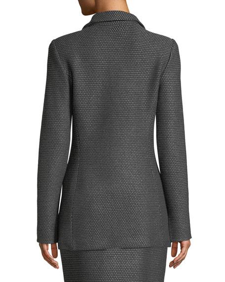 Sofia Knit One-Button Jacket