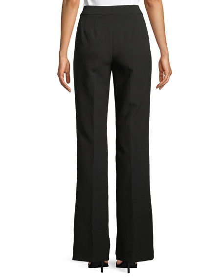 Bella Double-Weave Pants