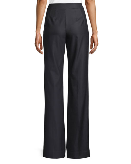 Stretch Birdseye Suiting Pants