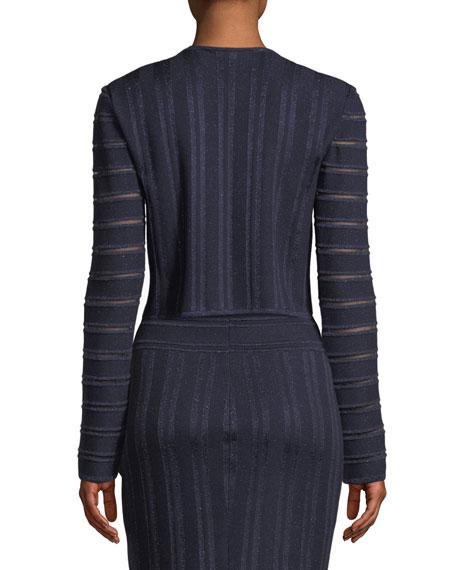 Gossamer Illusion Knit Cardigan
